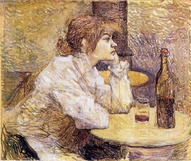lautrec painting hangover
